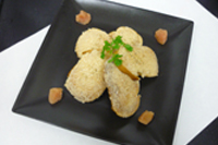 フランスパン・DE・明太カナッペ